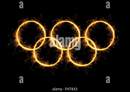 Olympic Rings. - Stock Photo