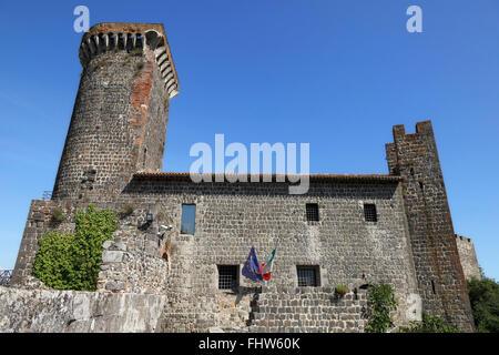 Vulci Castle, Maremma Laziale - Stock Photo