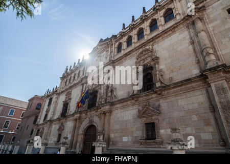 Alcalá de Henares,Spain.Universidad de Alcalá. Colegio Mayor de San Ildefonso. - Stock Photo