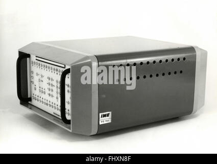 The back of a primitive programmer - Stock Photo
