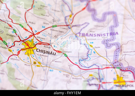 moldova map Stock Photo 116428059 Alamy