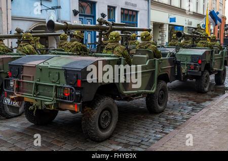 Military parade in Tallinn February 24, 2017 38
