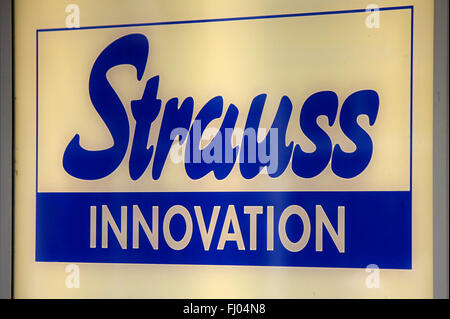 markenname strauss innovation berlin stock photo royalty free image 97119378 alamy. Black Bedroom Furniture Sets. Home Design Ideas