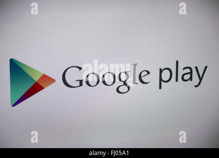 Markenname: 'Google Play', Berlin.