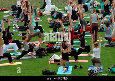 Berliner Yoga-Festival.