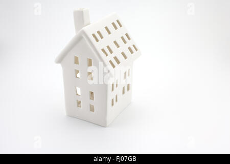 house investment concept on white backgroung