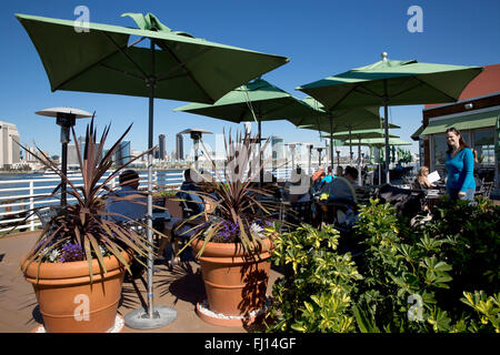Peohe's Restaurant, Coronado Island, San Diego, California, USA - Stock Photo