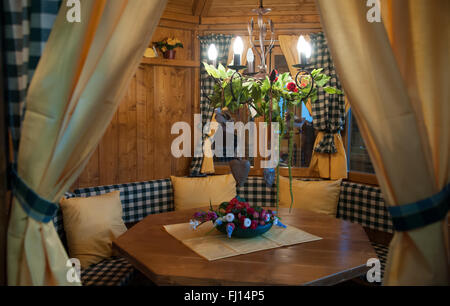Munich, Germany. 26th Feb, 2016. A garden shed can be seen at the International Handcraft Fair IHM in Munich, Germany, - Stock Photo