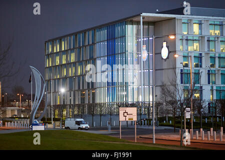 HQ Greater Manchester Police headquarters, Central Park, Newton Heath, Manchester, England, UK.  building, enforcement, - Stock Photo