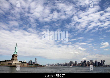 Statue of Liberty National Monument, New York - Stock Photo
