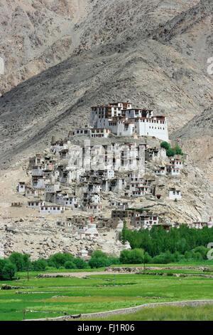 Chemrey Monastery, Ladakh, India - Stock Photo
