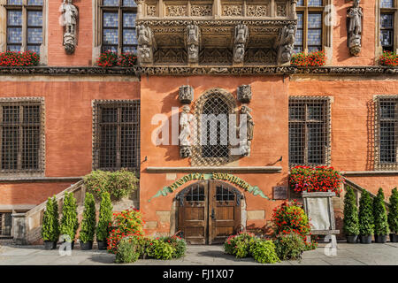 The Schweidnitzer Cellar (Piwnica Swidnicka) is a historic restaurant, Wroclaw, Poland, Europe - Stock Photo
