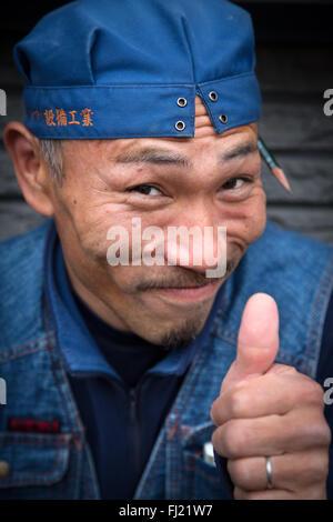 Japan portrait of man