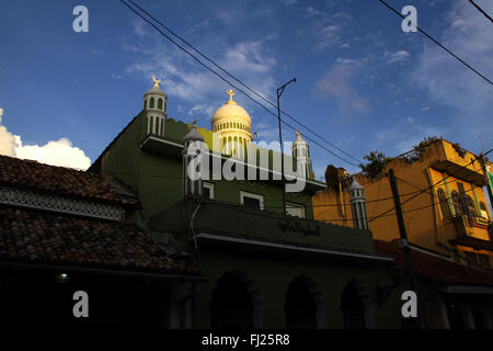 Mosque in the fort of Galle, Sri Lanka - Stock Photo