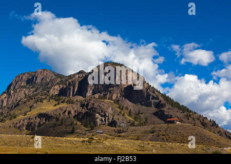 A mountain home near CREEDE COLORADO - Stock Photo