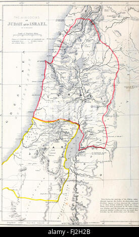 Map Of Israel And Palestine The Bible The Old Testament Germany - Map of old testament israel