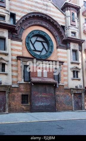 The Emery Roth Synagogue, now an art studio, on Rivington Street on Lower East Side in New York City - Stock Photo