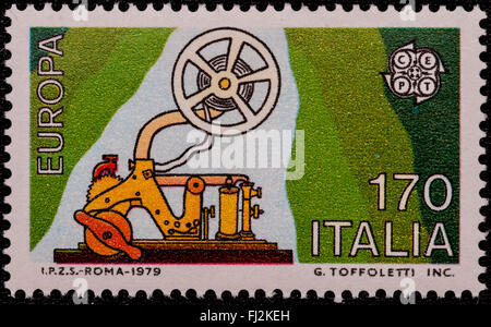 1979 - Italian mint stamp issued to celebrate the Europe. Lire 170 - Stock Photo