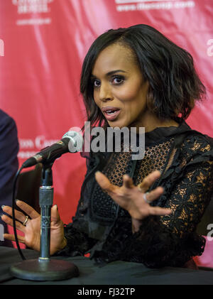 Kerry Washington is named the Hasty Pudding Theatricals Annual 'Woman of the Year' at Harvard University. The Hollywood - Stock Photo