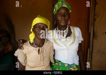Angolan women, Angola, Africa - Stock Photo