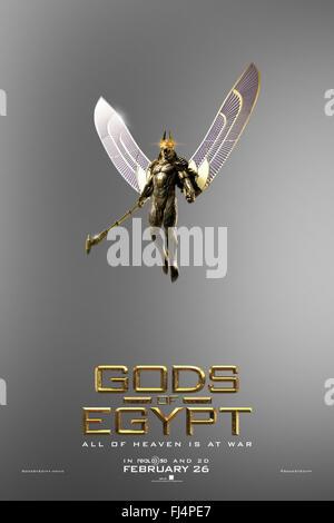 GODS OF EGYPT (2016)  ALEX PROYAS (DIR)  MOVIESTORE COLLECTION LTD - Stock Photo