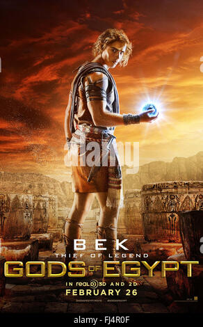 GODS OF EGYPT (2016)  BRENTON THWAITES  ALEX PROYAS (DIR)  MOVIESTORE COLLECTION LTD - Stock Photo