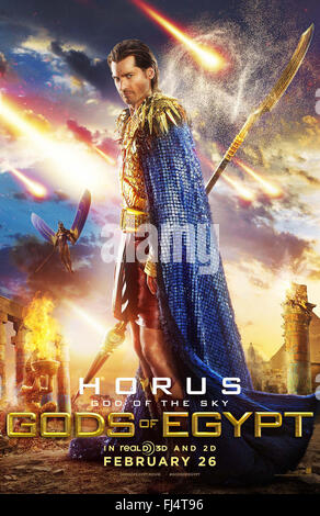 GODS OF EGYPT (2016)  NIKOLAJ COSTER-WALDAU  ALEX PROYAS (DIR)  MOVIESTORE COLLECTION LTD - Stock Photo