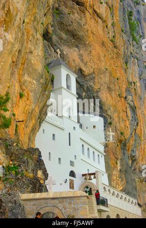 Ostrog monastery, Montenegro - Stock Photo