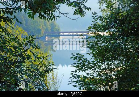 Nagold Dam, Germany - Stock Photo