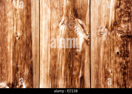 Wooden Background Texture Old Brown Planks Vertical - Stock Photo