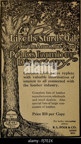 Polk-Husted Directory Co.'s Oakland, Berkeley and Alameda directory (1911) - Stock Photo