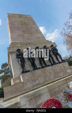 The Guards Memorial, also known as the Guards Division War Memorial, Westminster, London, England, United Kingdom. - Stock Photo