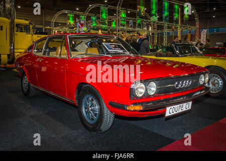 Vintage car Audi 100 Coupe S, 1973. - Stock Photo