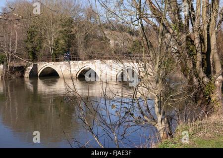 Barton Bridge, Bradford on Avon, Wiltshire - Stock Photo