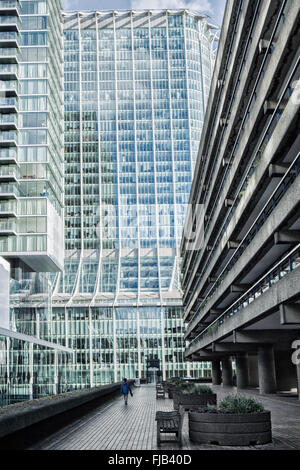 The Barbican Centre, City of London, London - Stock Photo