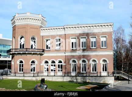 Natural History Museum (Natuurhistorisch Museum) Rotterdam, Netherlands. Located in mid 19th century classicist - Stock Photo