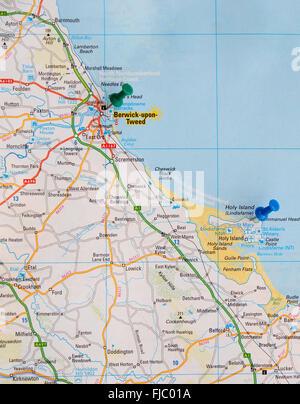 Map Of England East Coast.A Plan Of Berwick Upon Tweed Plan Of The Town Of Berwick Upon Tweed