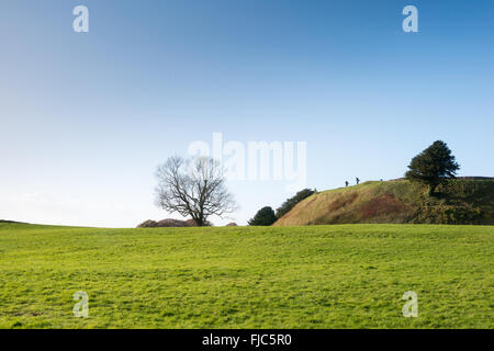 Old Sarum, Salisbury, Wiltshire, England, UK - Stock Photo