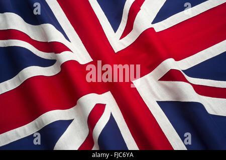 BRITISH UNION JACK FLAG - Stock Photo