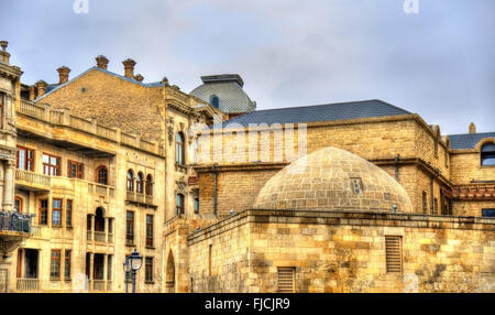 Icheri Sheher, the Old Town of Baku - Stock Photo