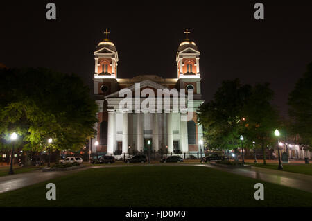 Cathedral of Immaculate Conception, Mobile Alabama - Stock Photo