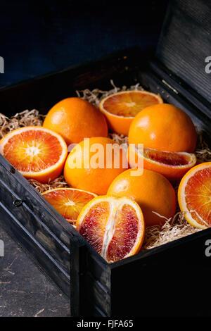Blood orange fruit - Stock Photo