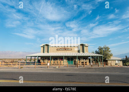 Shop, general store, Stovepipe Wells, Death Valley, Death Valley National Park, California, USA - Stock Photo