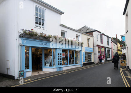 Seasalt clothes shop in Padstow, Cornwall, UK. - Stock Photo