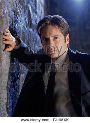 DAVID DUCHOVNY THE X FILES (1993) - Stock Photo