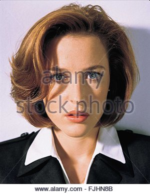 GILLIAN ANDERSON THE X FILES (1993) - Stock Photo