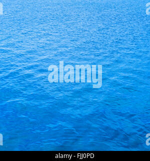 Blue water surface background, texture or pattern - Stock Photo