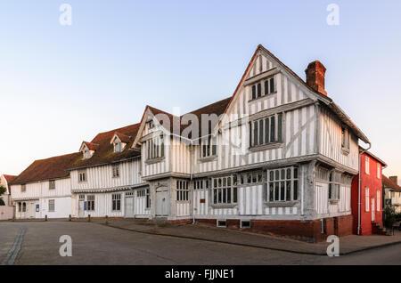 Guildhall of Corpus Christi, Lavenham, Suffolk, England, UK. - Stock Photo
