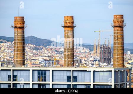 Fecsa endesa building barcelona catalonia spain stock - Oficina fecsa endesa barcelona ...