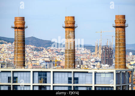 Fecsa endesa building barcelona catalonia spain stock photo royalty free image 61650092 alamy - Oficina fecsa endesa barcelona ...